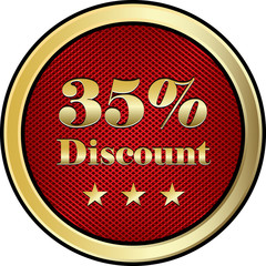 Thirty Five Percent Discount