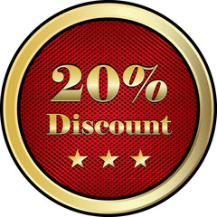 Twenty Percent Discount