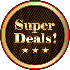 Super Deals Label