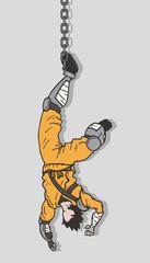 Hunging ninja