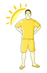Sun boy
