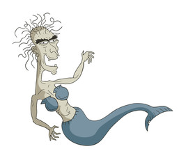 Old mermaid