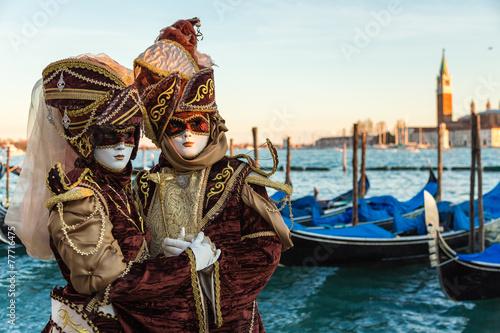 Fotobehang Carnaval Carnevale Venezia