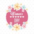 Obrazy na płótnie, fototapety, zdjęcia, fotoobrazy drukowane : happy womens day