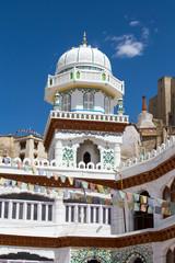 Muslim temple, Leh city in Ladakh, India