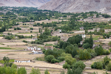 View from Likir monastery, Ladakh, India