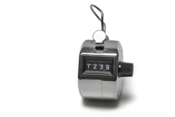 Tally click counter showing 1234