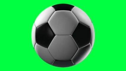 Soccer Ball, loop seamless, alpha channel