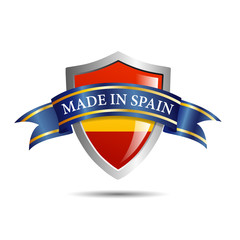 Vector shield made in Spain