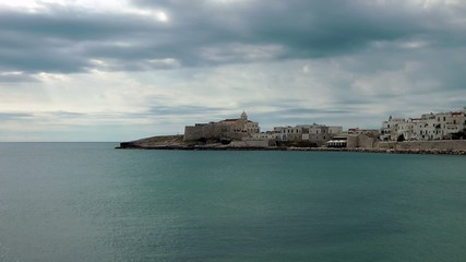 puglia vieste video adriatico mare