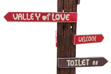 Sign pillar