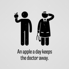 An Apple a Day Keeps the Doctor Away Proverb