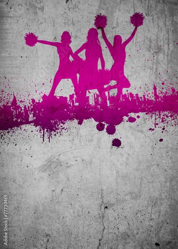 Papiers peints Gymnastique Cheerleader background