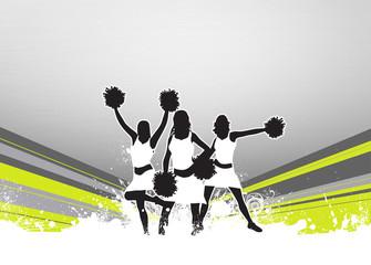 Cheerleader background