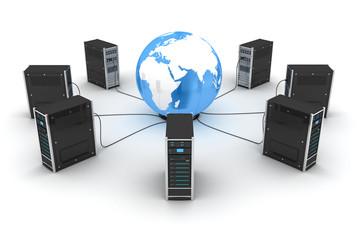 Abstract World server