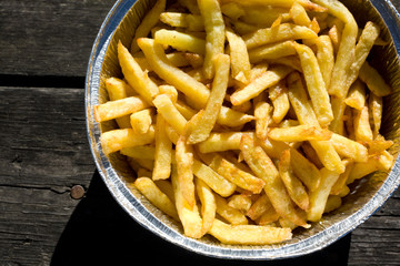 Picnic french fries