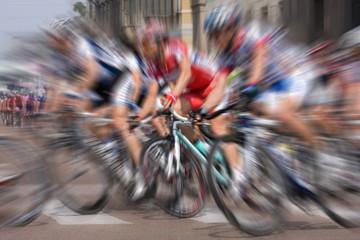Ciclisti in gara