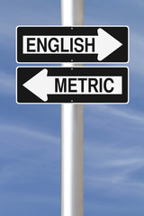 English or Metric