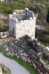 Inside Byblos Crusader Castle