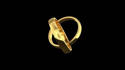 Wedding Rings (Seamless Loop )