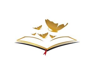 Book Light Butterfly
