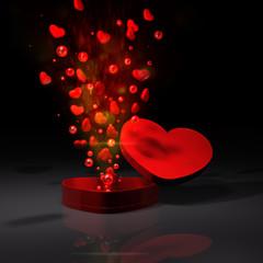 Herz Verpackung EXPLO