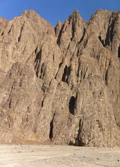 Felsformationen in der Arabischen  Wüste