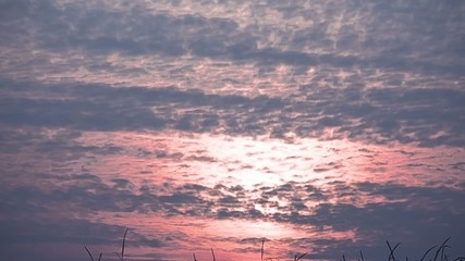 tramonto video ripresa sole al tramonto