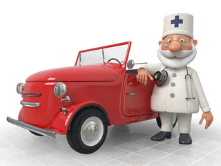 The 3D Doctor costs near car