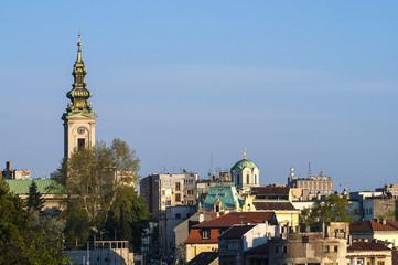 Belgrade city center.