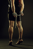 Chained victim