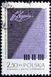 Postage stamp Poland 1970 Poster for Chopin Competition