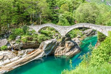 Ponte dei Salti, Verzasca Tal
