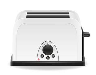 toaster vector illustration