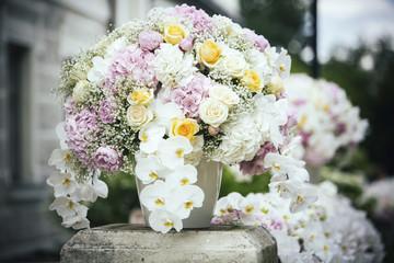 Magnificent flower composition