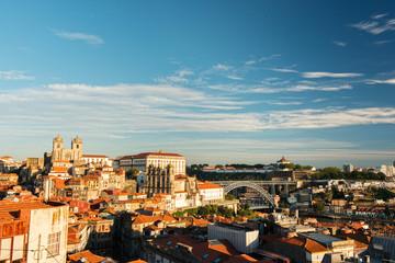 View of Porto city in Portugal
