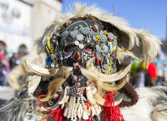Surva mask costume festival