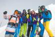 Skifahrer/Gruppe