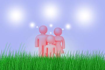 Мечтающая семья