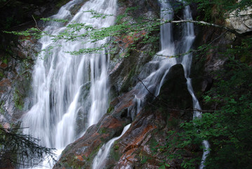 I canyon delle cascate