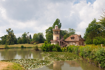 Marlborough tower in the village of Marie Antoinette in the park