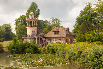 Marlborough Tower on the farm of Marie Antoinette in the park of