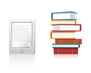 Books and E-reader
