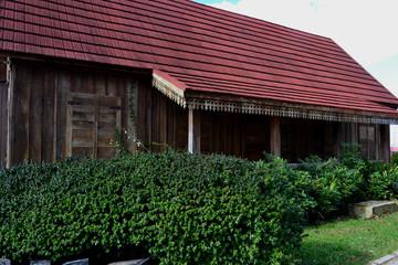 réplica de casa antiga em Caxias do Sul