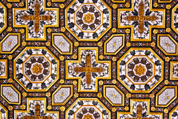 baroque coffered ceiling