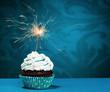 Birthday Sparkler Cupcake - 77757875