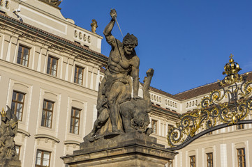 Sculpture above Entry to Royal Palace