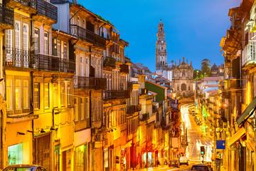 Porto, Portugal Old City View