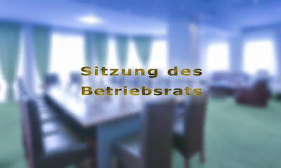 Sitzung Betriebsrat
