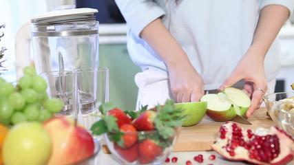 fruit smoothie blender